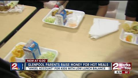 Glenpool parents raise money to ensure all students fed hot meals