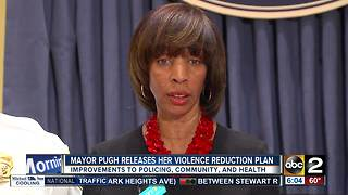 Mayor Pugh releases her Violence Reduction Plan - Video