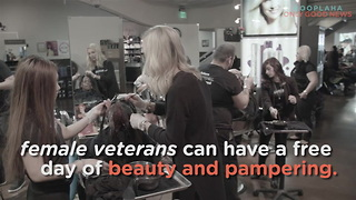Female Veterans Get 'Makeovers That Matter' - Video