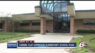Carmel school board approves motion close, rebuild two elementary schools - Video