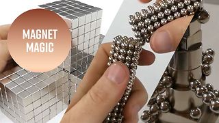 Mesmerizing and magical: The magnet man - Video