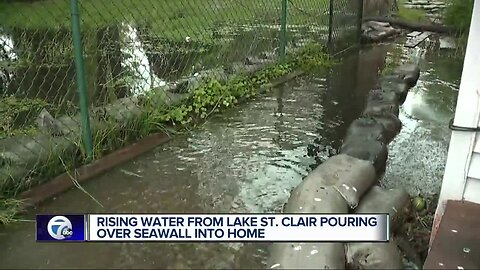 Chesterfield Township man forced to evacuate home after flooding along canal