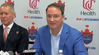 FC Cincinnati will privately fund its own stadium - Video