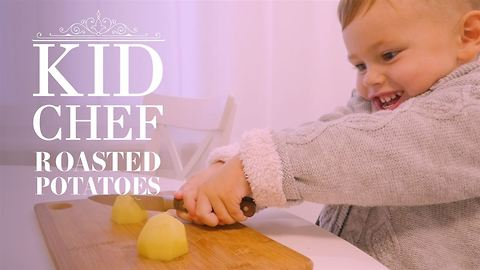 Kid Chef: How (not) to make roast potatoes