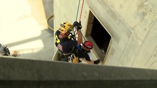 Palm Beach County Fire Rescue trains for high danger, high drama incidents