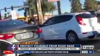 Road rage incident caught on camera