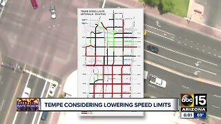 Tempe considering lowering speed limits