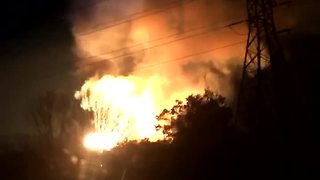 MAssive fire - Video