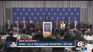 the changes recommended to NCAA college basketball - Video