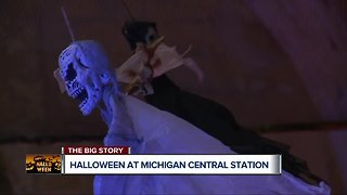Halloween at Michigan Central Station