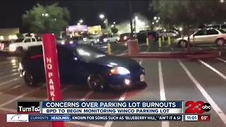 Cars burning out in WinCo parking lot raise concerns - Video