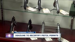 Trooper answers questions on pistol permit recertification - Video