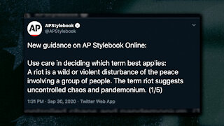 "AP Style Guide Finds Term ""Riot"" Offensive, Prefers Use of ""Unrest"" To Describe Violent In Streets"