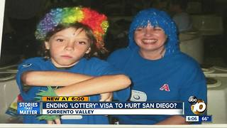 Ending 'lottery' visa could hurt San Diego - Video