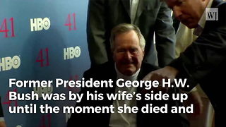 Bush Camp Gives Update On George Hw After Wife Of 73 Years Passes Away - Video