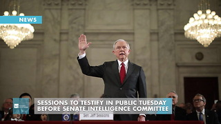 Sessions To Testify In Public Tuesday Before Senate Intelligence Committee