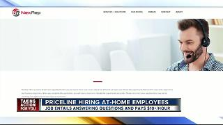 Priceline hiring for work-from-home position - Video