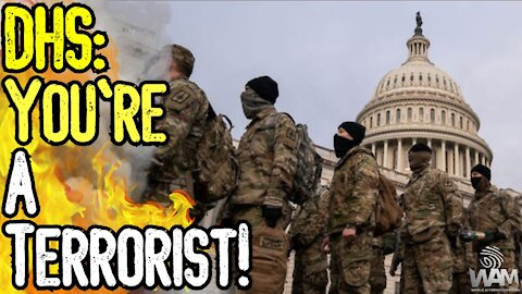"""DHS Declares Trump Supporters """"TERRORISTS!"""" - They Want A CIVIL WAR! - Military Police State RISES"""
