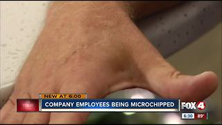 Could employees in SWFL expect microchip implants soon? - Video