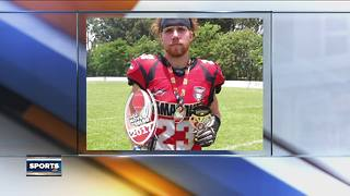 Brown Deer football player playing professionally in Brazil - Video