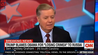 Watch: Lindsey Graham Unloads On Those Who Criticism Him For Working With Trump