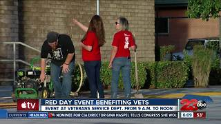 Red Day event benefiting local veterans