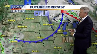 Cold front brings frost overnight