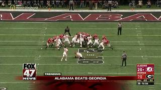 Alabama beats Georgia in OT for national title