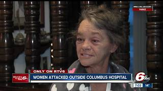 Woman describes being attacked during attempted carjacking outside Columbus hospital - Video