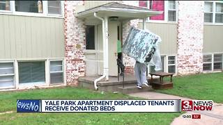Beds delivered to former Yale Park residents