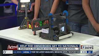 Hyde Park Middle School robotics team raising money for National and Worlds competition - Video