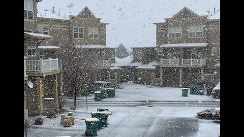 Heavy Snowfall Builds in Bloomfield, Denver Metro Area