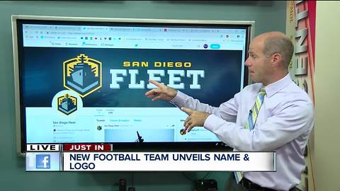 San Diego's new football team unveils name and logo