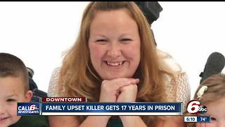 Family of murdered mother irate at plea deal, 17 year prison sentence for killer - Video