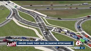 Drivers share thoughts on diamond interchange in Hamilton County - Video