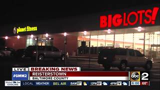 Fire reported at Planet Fitness, Big Lots in Reisterstown - Video
