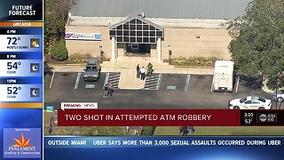 Brinks driver, Good Samaritan injured during attempted bank robbery and shooting in Brandon