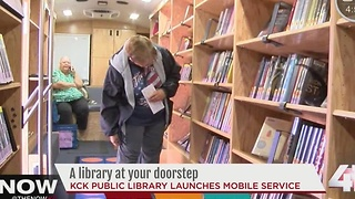 KCK mobile library brings books, CDs, DVDs to you - Video