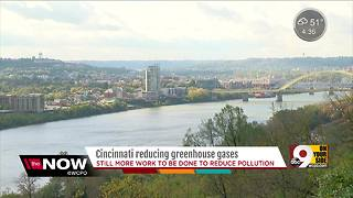 Greenhouse gases in Cincinnati down, but Tri-State still ranks low for air quality - Video