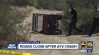 Woman seriously injured in Scottsdale ATV crash - Video