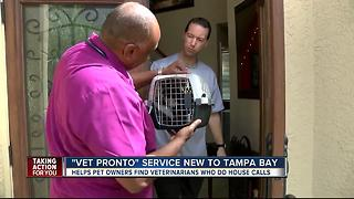 New site makes vet housecalls easier in Tampa Bay Area - Video