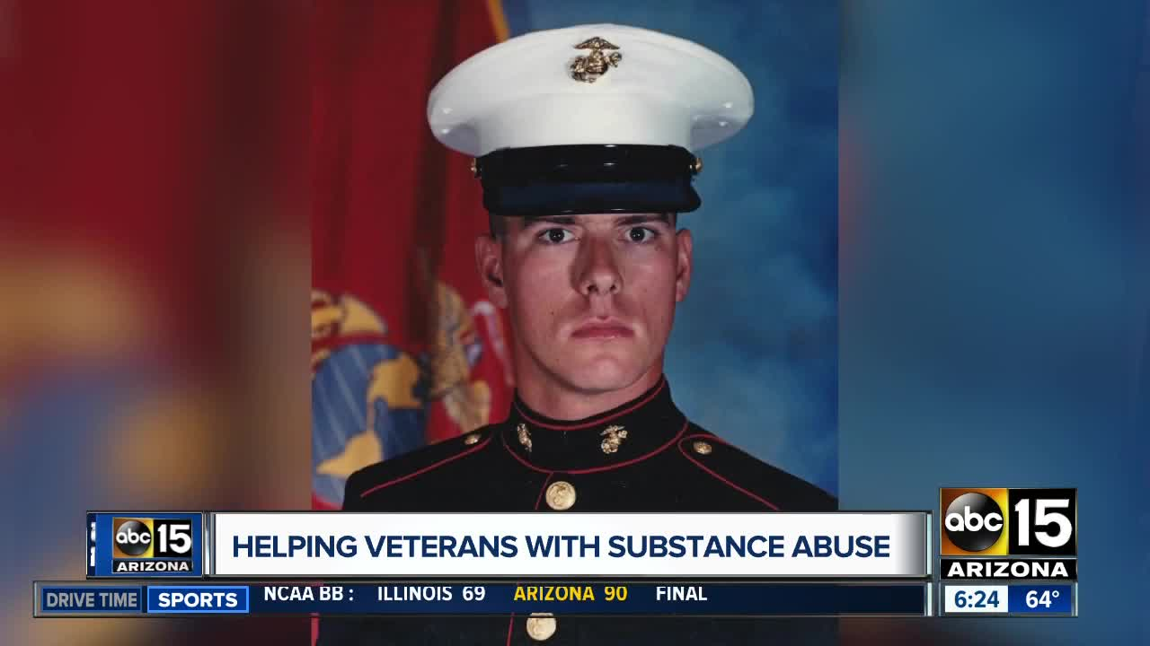 Helping veterans with substance abuse