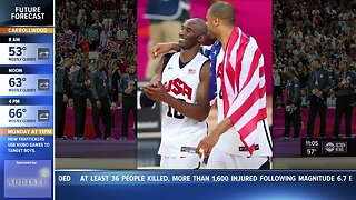 Local fans react to Kobe Bryant's Death