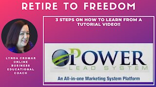 3 Steps On How To Learn From A Tutorial Video