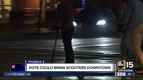 Phoenix may be getting scooters