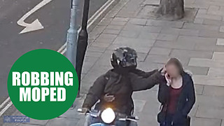 Moped mugging gang who tried to snatch George Osborne's phone to be sentenced - Video