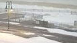 High Wind Gusts Blow During Blizzard Along Jersey Shore - Video