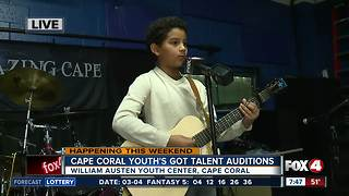 Cape Coral Youth's Got Talent holds auditions - 7:30am live report - Video