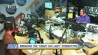 Mojo in the Morning: Breaking the 'Crazy Cat Lady' stereotype
