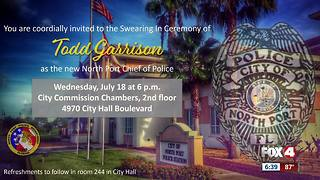 North Port Police department are honoring its new chief in a major way - Video